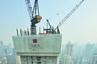 湖南在建第一高楼突破百米