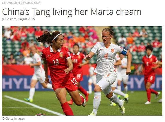 唐佳丽想成为中国玛塔:能从她身上找灵感
