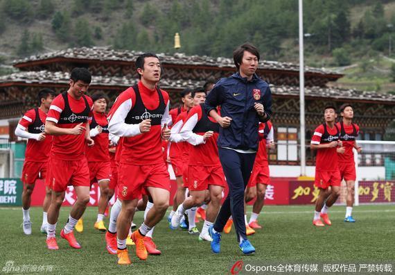 国足备战与不丹的比赛