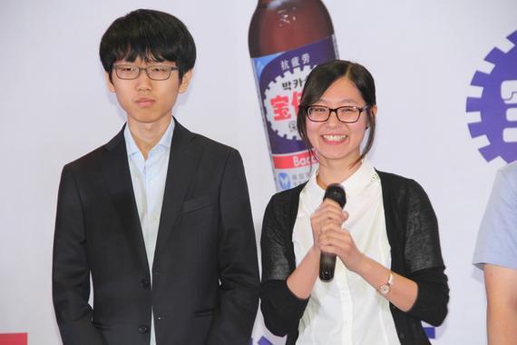 吴侑珍:新锐对抗赛最想见柯洁 因为他很可爱