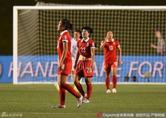 中国女足出局