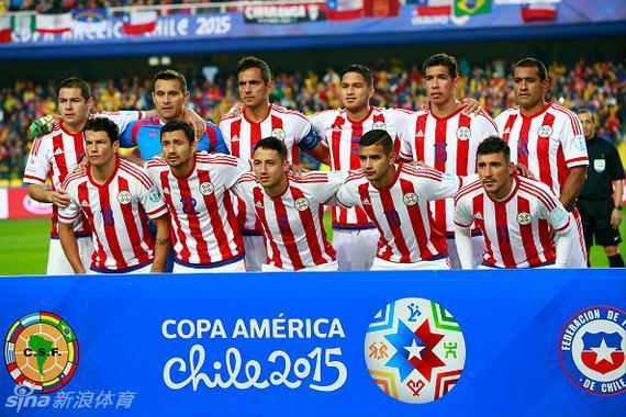 巴拉圭队最后一个晋级四强