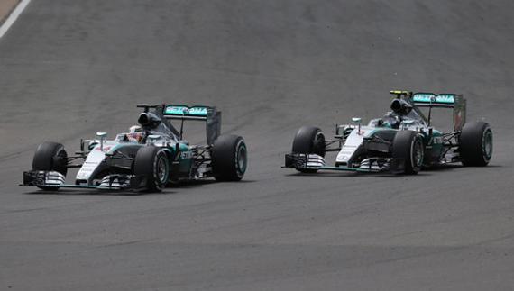梅赛德斯车队继续领跑积分榜