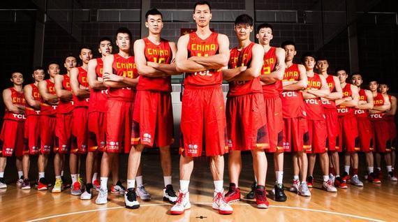 中国男篮合影宣传照