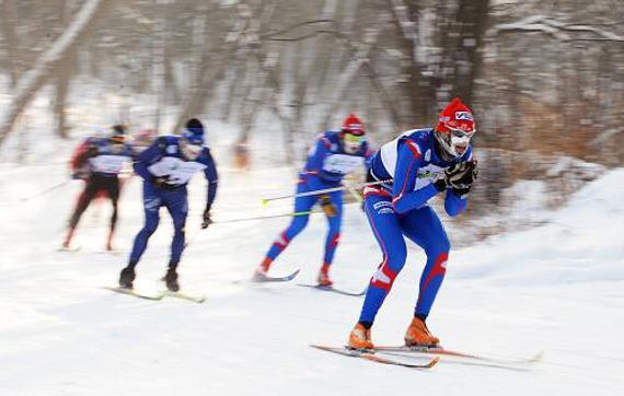 冬季奥运会项目介绍:越野滑雪图片