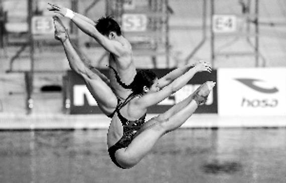 男女混合跳水