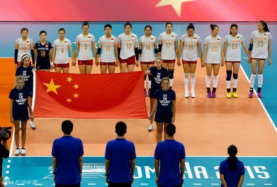 中国队全体队员