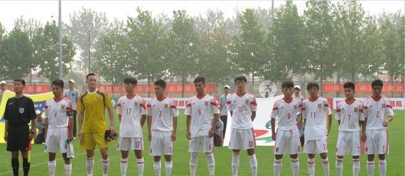 国青选拔4-2鲁能DB联将参加潍坊杯五六名争夺