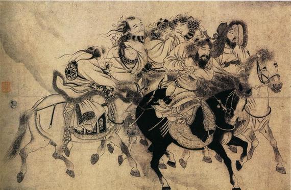 中国古代的文化人