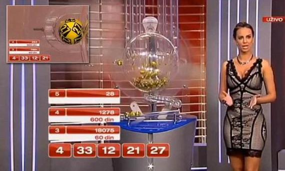 塞尔维亚彩票开奖出现严重失误