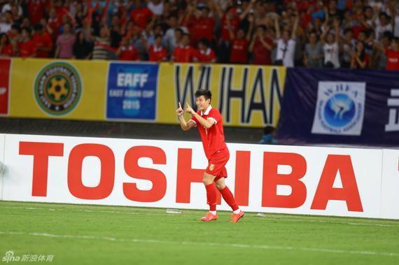 武磊为中国队取得领先
