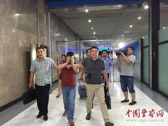 犯罪嫌疑人被押解回国