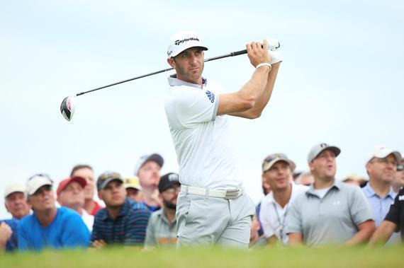 达斯汀-约翰逊领跑PGA锦标赛首轮