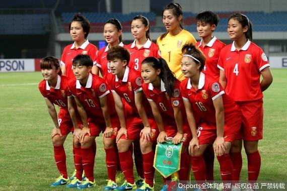 中国女足U19首发11人
