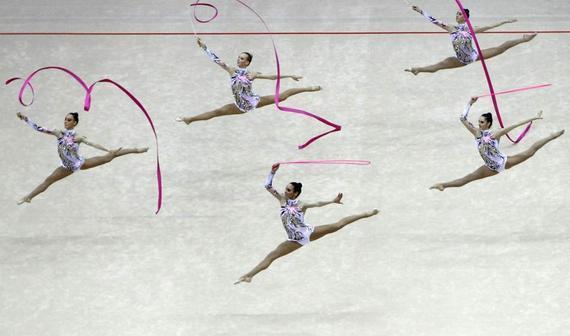 艺术体操是否还只是女性的专利?