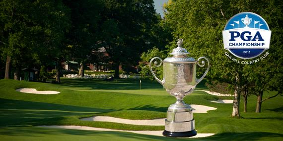两年之前,赛季最后一场大满贯赛刚在橡树山举行,当时詹森-杜夫纳(Jason Dufner)力克福瑞克,赢得个人第一个大满贯赛头衔。除此之外,1980年和2003年,它也承办过美国PGA锦标赛。杰克-尼克劳斯和肖恩-米歇尔(Shaun Micheel)先后举起了沃纳梅克杯(Wanamaker Trophy)。   该球场同时承办过美国公开赛(1989年)和美国业余锦标赛(1998年),可是上述报道指出橡树山有可能成为美国职业高尔夫协会的核心轮换场地之一,意味着每隔七、八年,PGA锦标赛便会在此举行一次
