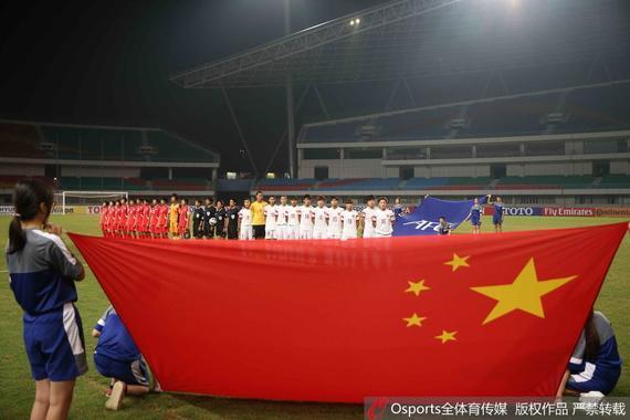 2015亚洲U19女足锦标赛半决赛,中国国青女足0-2不敌朝鲜队。