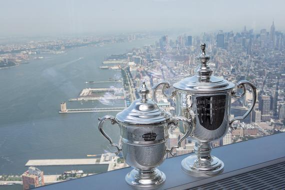 美网冠军奖杯