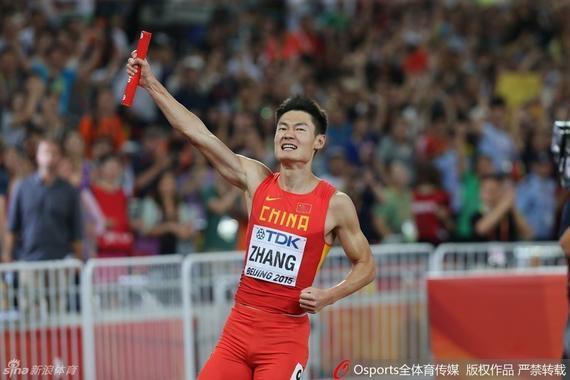 田径全锦赛苏炳添缺席 张培萌10秒27百米夺冠