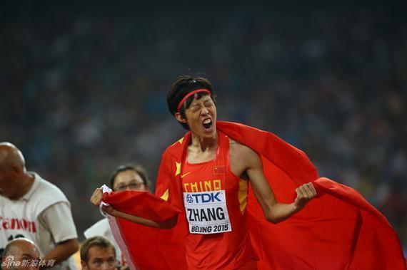 张国伟是现今国家跳高榜首人