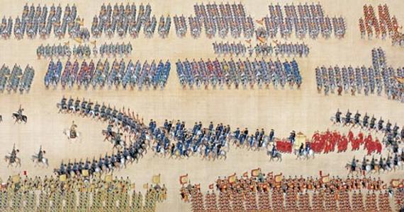 古代阅兵方阵