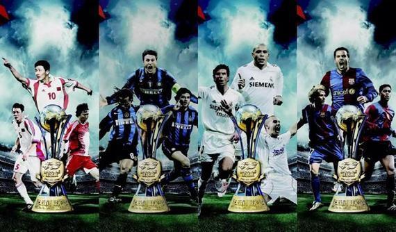 巴萨足球队2018年海报