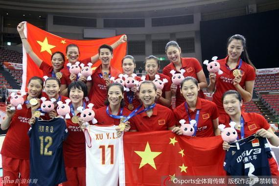 女排世界杯夺冠