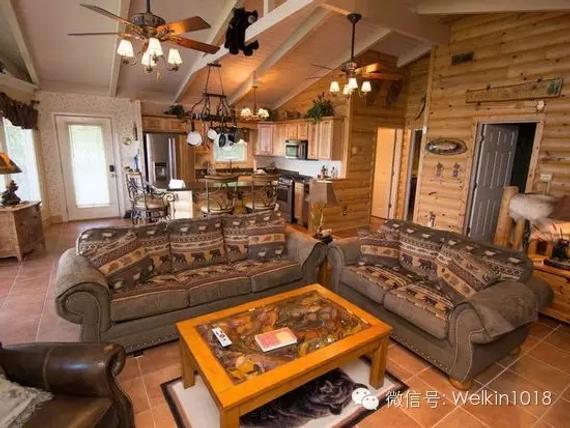 木屋餐厅效果图
