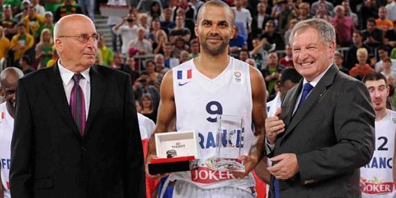 帕克有望蝉联欧锦赛MVP