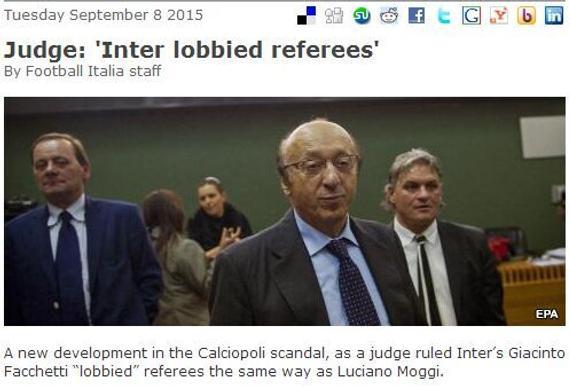 法官:国米也干了笼络裁判的事件