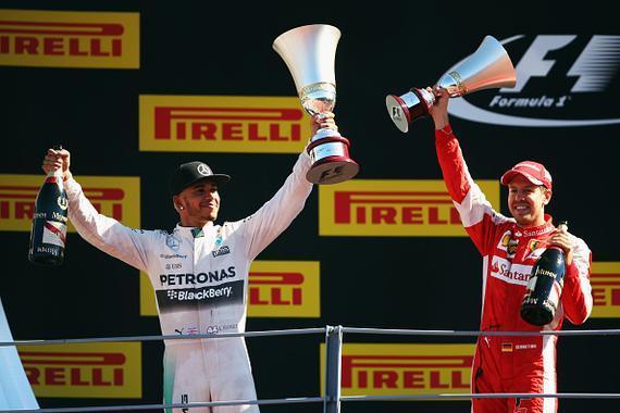 F1意大利站汉密尔顿夺冠维泰尔亚军