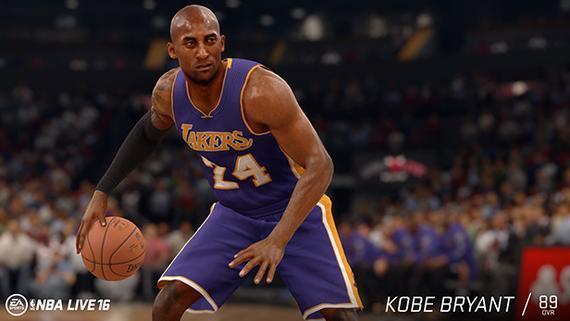 科比在NBAlive里成第三分卫