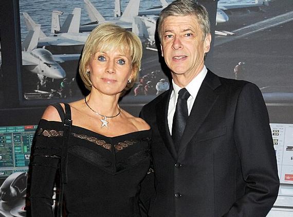 温格和妻子安妮