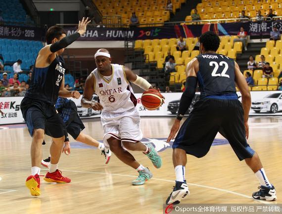 韩国男篮今天不敌卡塔尔队