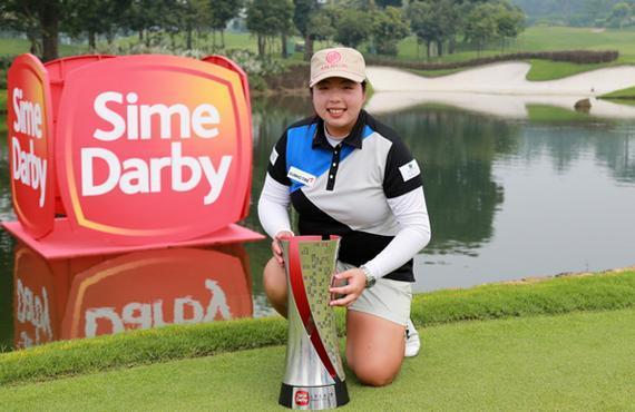 冯珊珊客岁在马来西亚博得LPGA第4冠