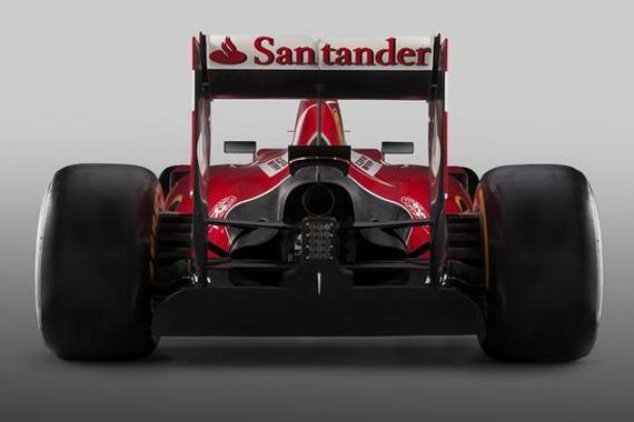 现金F1赛车排气管运用单出口描绘