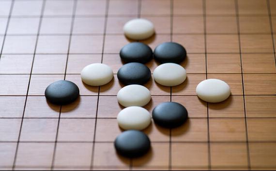 围棋水印网页素材