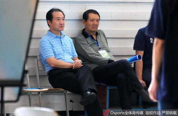 篮管中心副主任胡加时在青运会期间接受了采访