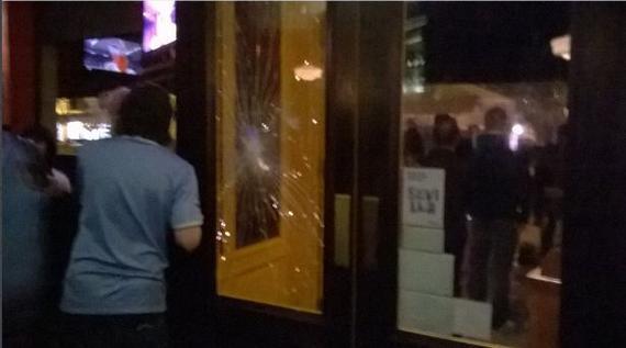 曼城球迷遭到袭击