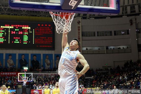 李根在新疆男篮依旧发挥出色