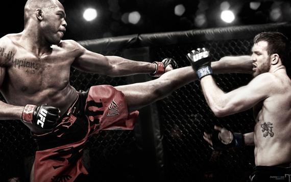 MMA就是综合格斗