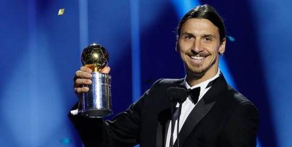 伊布又拿瑞典足球先生