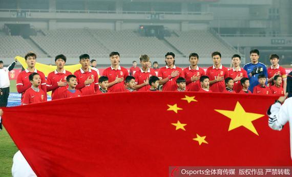 中国国奥0-1不敌哥伦比亚国奥