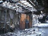 俄大火始于三层游乐园 伤心父