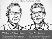 诺贝尔经济学奖花落气候变化与技术创新