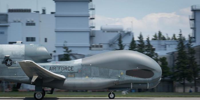 美军RQ4无人机结束日本部署 转场关岛年底将回归