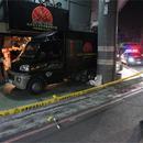 台湾一大学附近清晨传2声枪响 只留血迹不见伤者