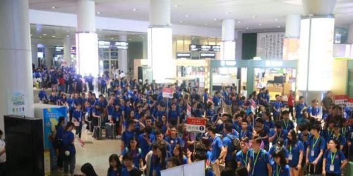 千名香港青年抵杭州 2018香港青年浙江行活动