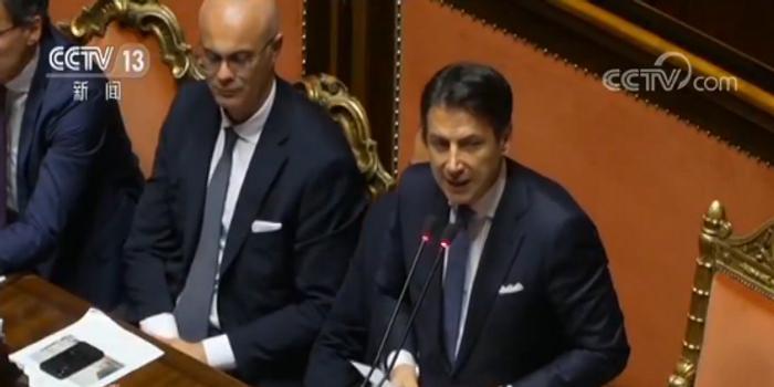 意大利新政府通过信任投票 正式开始履职