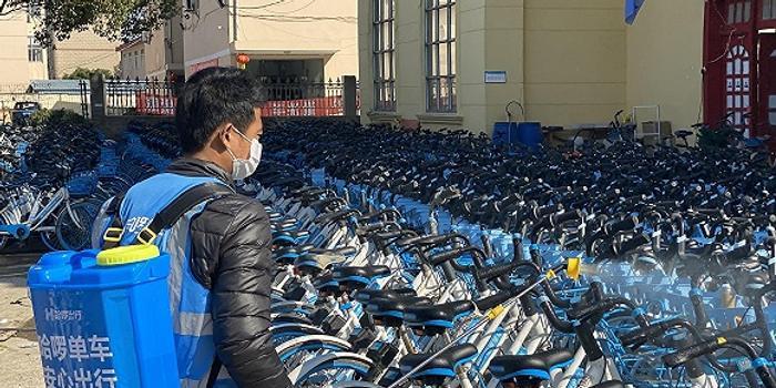 骑单车成疫情返工新姿势,共享单车的消毒能放心吗?